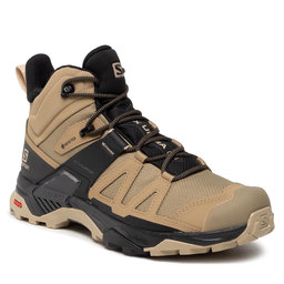Salomon Turistiniai batai Salomon X Ultra 4 Mid Gtx GORE-TEX 412941 27 V0 Kelp/Black/Safari