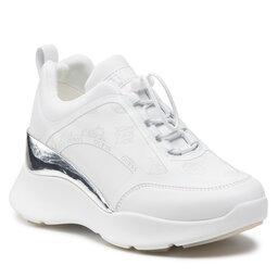Guess Laisvalaikio batai Guess FL8EME FAL12 WHITE