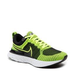 Nike Взуття Nike React Infinity Run Fk 2 CT2357 700 Volt/Volt/Black