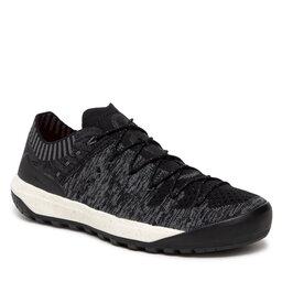Mammut Трекінгові черевики Mammut Hueco Knit Low 3020-06200-0486-1055 Black/Titanium