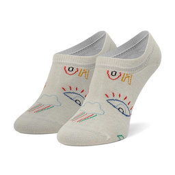 Happy Socks Низькі жіночі шкарпетки Happy Socks GTI38-1300 Білий
