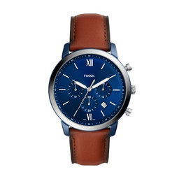 Fossil Годинник Fossil Neutra Chronograph FS5791 Brown/Silver