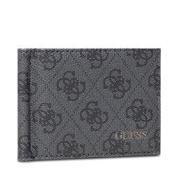 Guess Kreditinių kortelių dėklas Guess Vezzola (4G Logo Basique) Slg SMVEZL LEA23 BLA