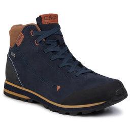 CMP Turistiniai batai CMP Elettra Mid Hiking Shoes Wp 38Q4597 Black Blue N950