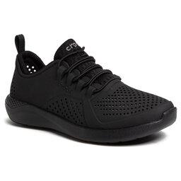 Crocs Pusbačiai Crocs Literide Pacer K 206011 Black/Black