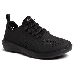 Crocs Туфлі Crocs Literide Pacer K 206011 Black/Black