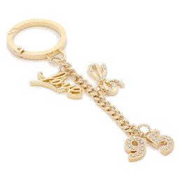 Liu Jo Брелок Liu Jo Key Ring 95 AF1123 A0001 Light Gold 90048