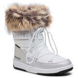 Moon Boot Снігоходи Moon Boot Mb Jr Girl Monaco Low Wp 34052400001 D White/Silver