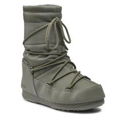 Moon Boot Снігоходи Moon Boot Mid Rubber Wp 24010300002 Khaki