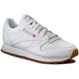 Reebok Batai Reebok Cl Lthr 49803 White/Gum