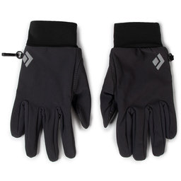 Black Diamond Лижні рукавиці Black Diamond LightWeight Softshell BD801046 Smok