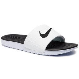 Nike Šlepetės Nike Kawa Slide (GS/PS) 819352 100 White/Black