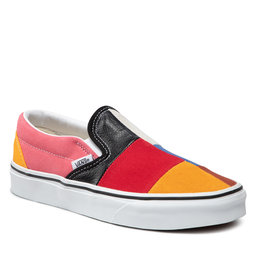 Vans Kedai Vans Classic Slip-On VN0A38F7VMF1 (Patchwork) Multi/Ture Wh