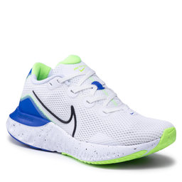 Nike Batai Nike Renew Run CW5844 100 White/Black/Racer Blue