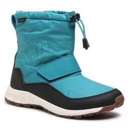 Jack Wolfskin Снігоходи Jack Wolfskin Woodland Texapore Wt Mid Vc K 4042531 Turquoise/Phantom