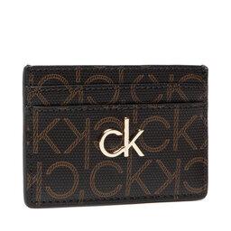 Calvin Klein Чохол для кредиток Calvin Klein Cardholder Monogram K60K608330 Brown Mono 0HD