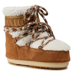 Moon Boot Снігоходи Moon Boot Mars Shearling 14400900001 Whisky/Off White