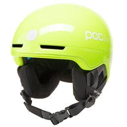 POC Slidinėjimo šalmas POC Pocito Obex Spin 10468 8234 Fluorescent Yellow/Green