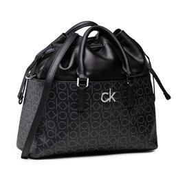 Calvin Klein Rankinė Calvin Klein Conv Habo Monogram Mix K60K608316 0GJ