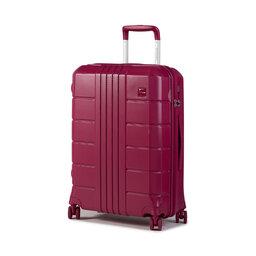 Wittchen Середня тверда валіза Wittchen 56-3P-822-60 Рожевий