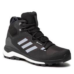 adidas Трекінгові черевики adidas Terrex Skychaser 2 Mid Gtx GORE-TEX FZ3332 Core Black/Halo Silver/Dgh Solid Grey
