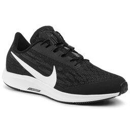 Nike Batai Nike Air Zm Pegasus 36 Flyease Wd BV0615 001 Black/White/Thunder Grey