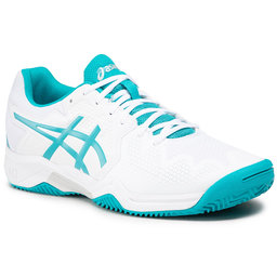 Asics Взуття Asics Gel-Resolution 8 Clay Gs 1044A019 White/Lagoon
