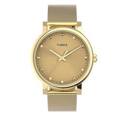 Timex Годинник Timex Originals TW2U05400 Gold/Gold