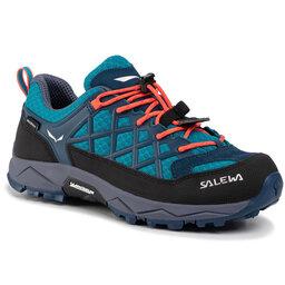 Salewa Трекінгові черевики Salewa Jr Wildfire Wp 64009-8641 Caneel Bay/Fluo Coral