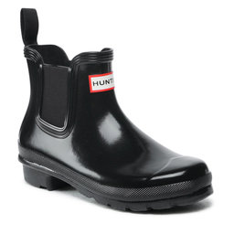 Hunter Guminiai batai Hunter Original Chelsea Gloss WFS2078RGL Black