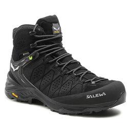 Salewa Трекінгові черевики Salewa Ms Alp Trainer 2 Mid Gtx GORE-TEX 61382-0971 Black/Black 0971
