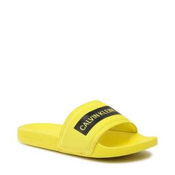 Calvin Klein Jeans Шльопанці Calvin Klein Jeans Slide Tape Inst Co YM0YM00257 Bright Sunshine ZHM
