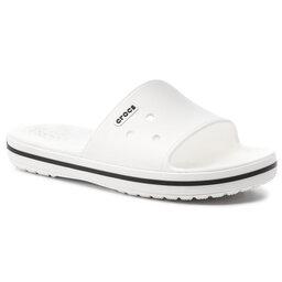 Crocs Шльопанці Crocs Crocband III Slide 205733 White/Black