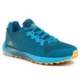 Columbia Взуття Columbia Montrail F.K.T. BM0109 Dark Turquoise/Golden Nugget/Turquoise Sombre/Pepite D'Or 435