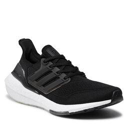 adidas Batai adidas Ultraboost 21 FY0378 Cblack/Cblack/Grefou