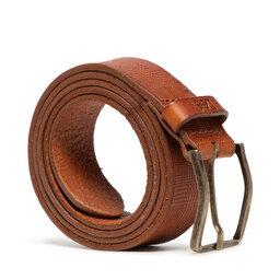 Lee Чоловічий ремінь Lee Structured Belt LK015080 Dark Cognac