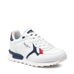 Pepe Jeans Снікерcи Pepe Jeans Britt College Boys PBS30494 White 800