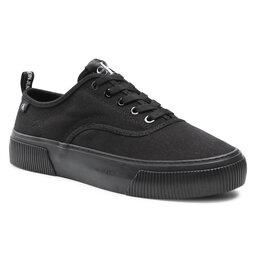 Calvin Klein Jeans Кросівки Calvin Klein Jeans Vulcanized Skate Oxford Co YM0YM00023 Full Black BEH