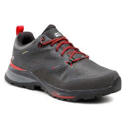 Jack Wolfskin Трекінгові черевики Jack Wolfskin Force Striker Texapore Low M 4038841 Phantom/Red