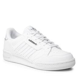 adidas Взуття adidas Continental 80 Stripes J H03944 Ftwwht/Ftwwht/Silvmt
