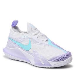 Nike Batai Nike React Vapor Nxt Hc CV0742 124 White/Copa Purple/Pulse Volt