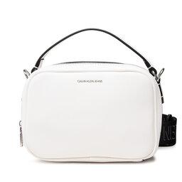 Calvin Klein Jeans Rankinė Calvin Klein Jeans Trapezoid Shadow Camera Bag K60K608382 Bright White YAF