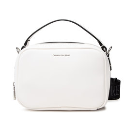 Calvin Klein Jeans Сумка Calvin Klein Jeans Trapezoid Shadow Camera Bag K60K608382 Bright White YAF