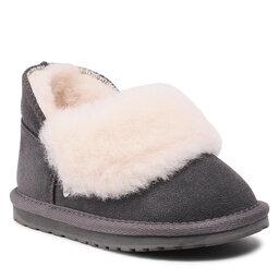 EMU Australia Взуття EMU Australia Minataro Kids K12348 Charcoal/Anthracite