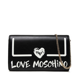 LOVE MOSCHINO Rankinės LOVE MOSCHINO JC4289PP0DKE100A Nero/Bianco