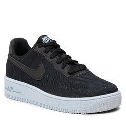 Nike Batai Nike AF1 Crater Flyknit (GS) DH3375 001 Black/Black/Chambray Blue