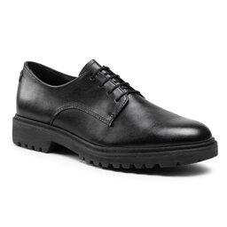 Tamaris Оксфорди Tamaris 1-23208-26 Black Leather 003