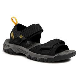 Keen Basutės Keen Targhee III Open Toe H2 1024865 Black/Yellow