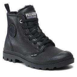 Palladium Черевики туристичні Palladium Pampa Hi Zip Lth S 97223-010-M Black/Black