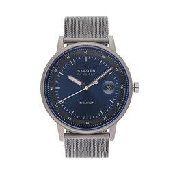Skagen Годинник Skagen Henricksen SKW6754 Silver/Blue